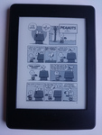 Peanuts auf Kindle E-Reader